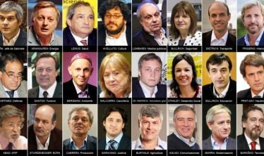 ¿Quiénes son los integrantes del gabinete anunciado por Macri?