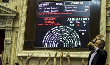 Diputados: el FpV logró el quórum y aprobó casi 100 proyectos