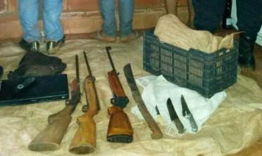 Detuvieron a tres jóvenes con armas de fuego en Andresito