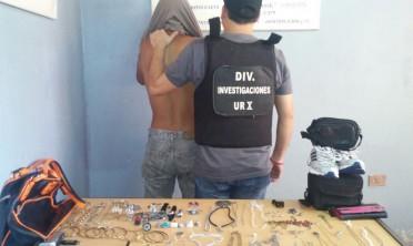 Un detenido por robo en Las Tacuaritas