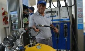 Los combustibles aumentaron un 6%