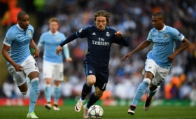Champions: empataron el City y el Madrid en la primera semifinal