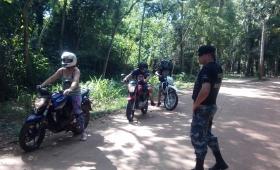 Iguazú: operativos policiales en las 600 Hectáreas