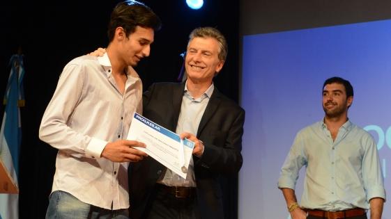 Macri ratificó el programa Progresar para los jóvenes