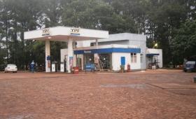 Encapuchados robaron una estación de servicio