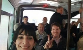 Lejos del Congreso, los diputados misioneros K marcharon con Cristina