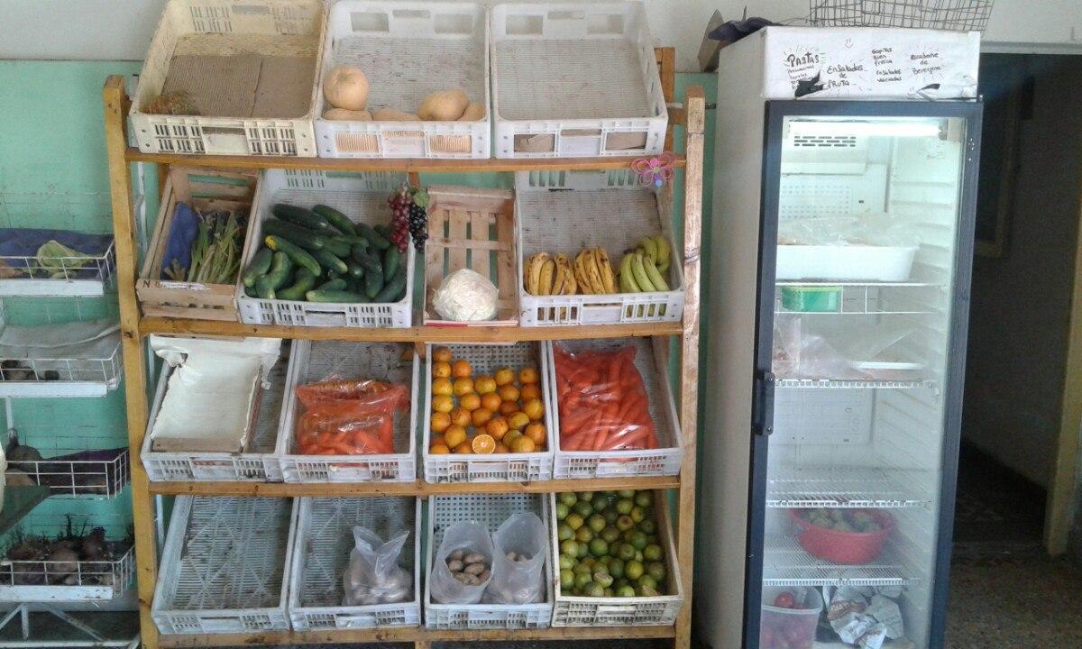 Estanterias para frutas y verduras pelador picatodo - Estanterias para fruta ...