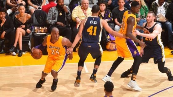 Kobe Bryant se retiró del básquet profesional