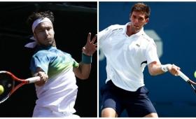 Mónaco y Delbonis quieren coronarse en los ATP de Houston y Marruecos