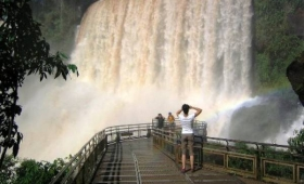 Turista porteño fue rescatado en Cataratas del Iguazú