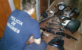 """Detuvieron a """"Topo"""" con motopartes, armas, balas y drogas"""