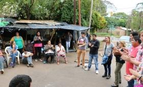 Chacra 189: el Gobierno prometió comprar las tierras en conflicto