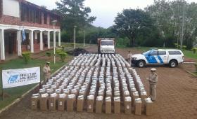 Detienen un camión con 17 mil cartones de cigarrillos