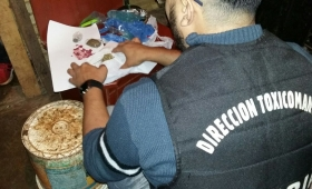 """Detuvieron a """"Willy"""" y secuestraron drogas en Chacra 247"""