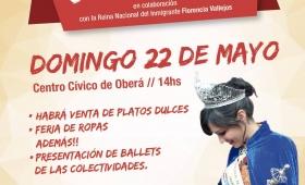 Evento solidario para ayudar a la Reina del Inmigrante