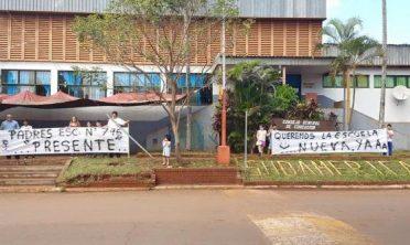 Puerto Iguazú: denuncian abandono total en la Escuela 746