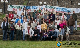 Reunión abierta de la mesa provincial por el no a las represas