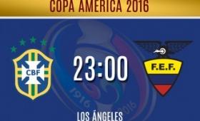 Copa América: Brasil debuta frente a Ecuador