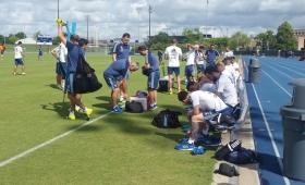 La Selección entrenó en Houston