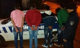 Una banda robaba espejos retrovisores en Aristóbulo del Valle