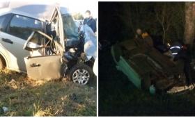 Rutas Trágicas: tres víctimas en siniestros viales en rutas 12 y 14
