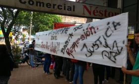 Eldorado: desalojados protestaron frente al juzgado