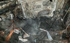 Le quemaron el auto frente a su casa