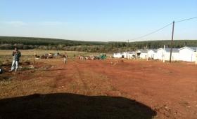 Posadas: nueva toma de tierras por parte familias sin techo