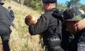 Tremendo testimonio del padre del nene que desapareció en el yerbal