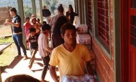 Aportes nacionales para la comunidad Ñamandú y un comedor del A3-2