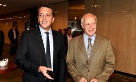 Massa, Lavagna y De la Sota analizan la situación económica social