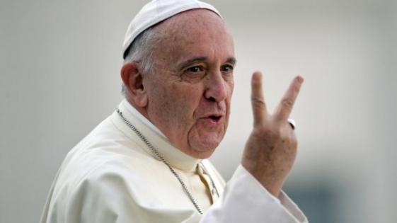 """Francisco pidió """"trabajo"""" para la juventud en el Tedeum de fin de año"""