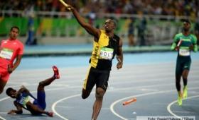 Bolt sumó la novena medalla de oro