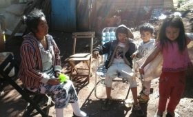 Campaña Solidaria en Oberá: Es madre de 15 hijos y tiene una enfermedad terminal