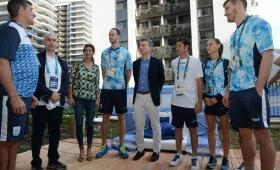Macri saludó a los deportistas argentinos que compiten en Río 2016