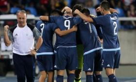 Con un gol de Calleri, Argentina le ganó a Argelia 2-1