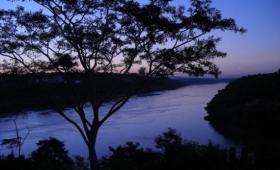 Sorprendente bajante del río Paraná