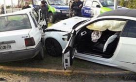 Centurión admitió que manejaba el auto en el choque