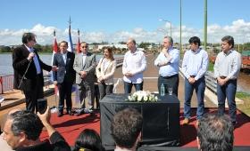 Inauguraron puentes en el Zaimán y construirán autovía Santa Ana-San Ignacio
