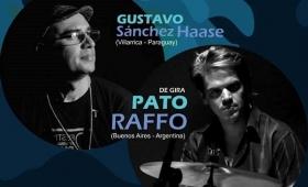 Raffo y Sánchez Haase se unieron en Power Blues Dúo y tocan en Posadas