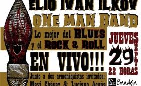 """Este jueves toca en vivo Elio Iván Ilkov, el """"hombre orquesta"""" posadeño"""