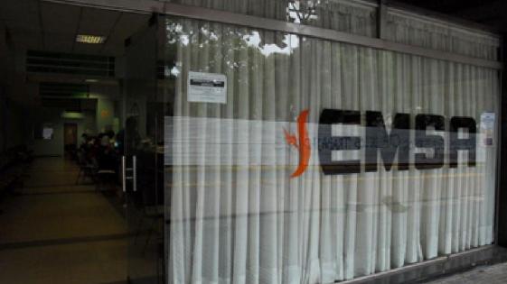 EMSA anunció cortes programados en Posadas, Candelaria y Garupá
