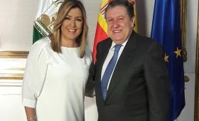 El embajador Puerta potencia relaciones políticas con España