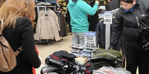Las ventas minoristas cayeron en agosto en todo el país