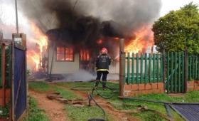 Campaña solidaria por familia que perdió todo en un incendio