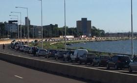 Volvieron las filas interminables en el Puente Internacional