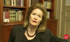 Highton de Nolasco exhortó a los jueces a tener enfoque de género