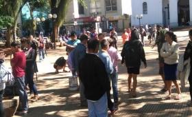 Hambre: tareferos amenazan con saquear comercios