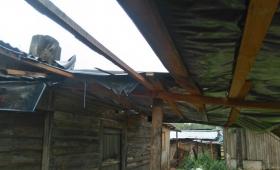 Al menos 300 familias afectadas por el temporal en Posadas