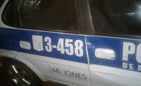 Siete detenidos y un patrullero apedreado en el barrio A-4